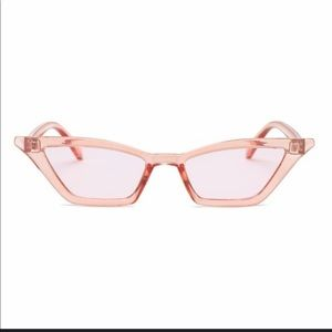 Accessories - NWOT PINK GLASSES VERY UNIQUE